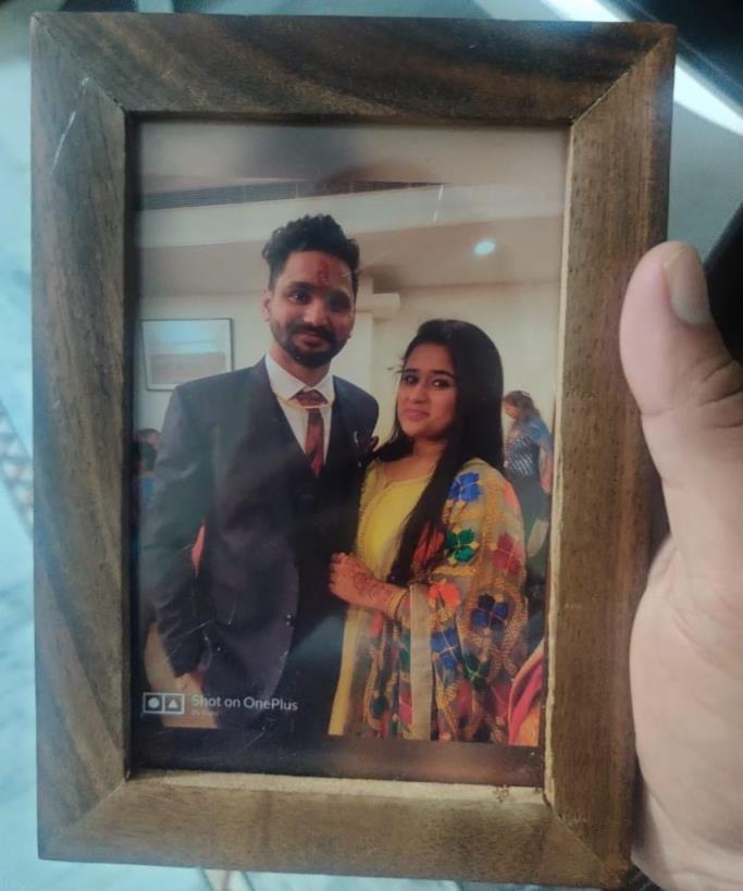 The gift I sent to Shubham Bhaiya