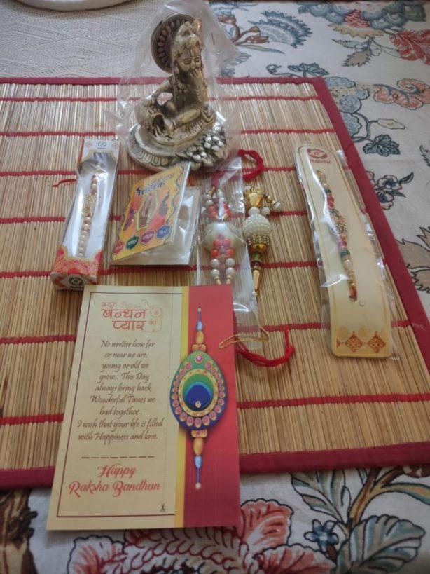 The gift I sent to Akshay Bhaiya