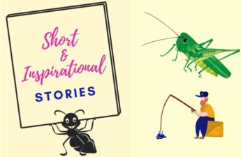 Famous & Inspirational Best Short Story In English Ant and grasshopper, fisherman & his wife